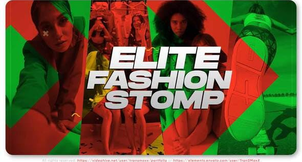 Elite Fashion Stomp 32345891 Videohive - Free Download After Effects Template