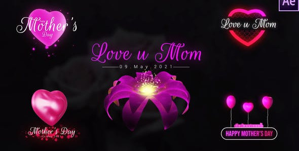 Mothers Day Unique Titles 31809595 Free Download After Effects Project
