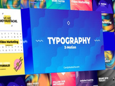 VIDEOHIVE X-MOTION | TYPOGRAPHY | AFTER EFFECTS