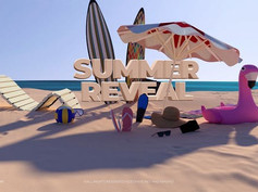 Summer Logo Reveal 23954364 Videohive - Free Download After Effects Template