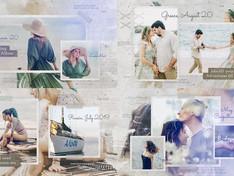 Traveling Memories Photo Album – Adventure Journey Ink Slideshow – Family Friends Romantic Gallery 3