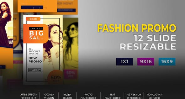 Fashion Promo Social B77 32553734 Videohive – Download After Effects Template