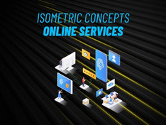 Online Service – Isometric Concept 31223576 Free Download After Effects Project