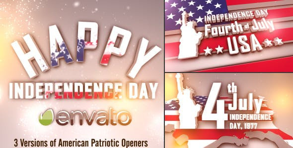 VIDEOHIVE USA FREEDOM PATRIOTIC OPENERS PACK