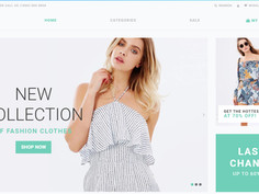 SuitUP - Fashion Store Free Elegant Shopify Theme 79265 - Download Free Website Templates