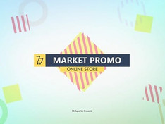 Market promo 21951837 Free Download After Effects Project