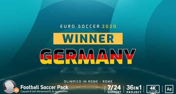 Euro Soccer 2020 32209843 Videohive – Download After Effects Template