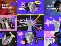 Fashion Colorful Opener 32006016 Free Download After Effects Project