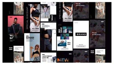 Download Minimal stories clothes shop