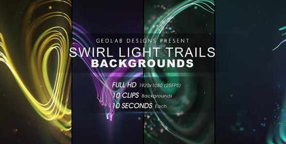 Swirl Light Trails Backgrounds l Colorful Trails Backgrounds l Flow Lines Backgrounds 27511667 Free
