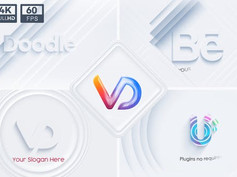 Neumorphism Logo Animations Set 31330435 Free Download After Effects Project