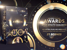 Cobalt Golden Luxury Awards 4K 29533719 Videohive – Download After Effects Templates