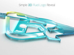 Simple 3D Fluid Logo Reveal 28796975 Free Download After Effects Project