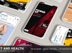 Sport & Health Instagram Promo 32384777 Free Download After Effects Project After Effects Project Fi