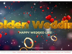 Golden Wedding 30333085 Videohive – Download After Effects Template