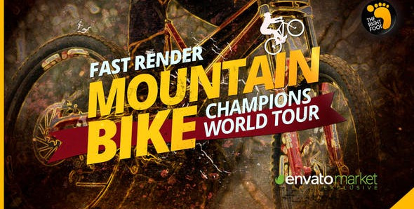 Mountain Bike Promo 30222734 Videohive - Free Download After Effects Template