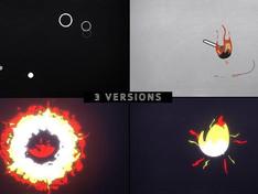 VIDEOHIVE MINIMAL LOGO – IDEA ON FIRE