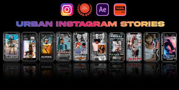 Instagram Stories Urban 31850015 Videohive – Download After Effects Template