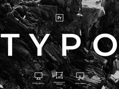 Typography MOGRT 31599720 Free Download After Effects Project