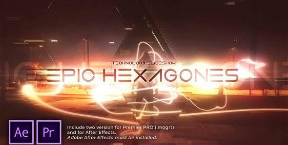 Epic Hexagones Technology Slideshow 31275473 Free Download After Effects Project
