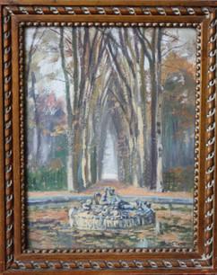 Bassin de Saturne à Versailles