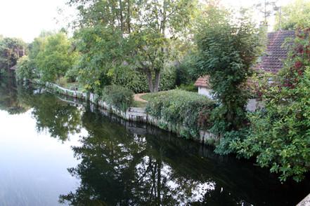 Maison du peintre au bord de l'Eure