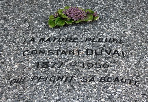 Pierre tombale de Constant-Duval