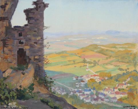 Autoire-Le château des anglais