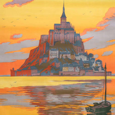 Affiche Mont Saint-Michel