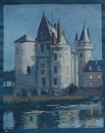 Sully sur Loire de nuit