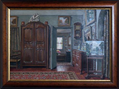 Intérieur de la maison du peintre
