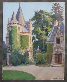 Vue d'un Château