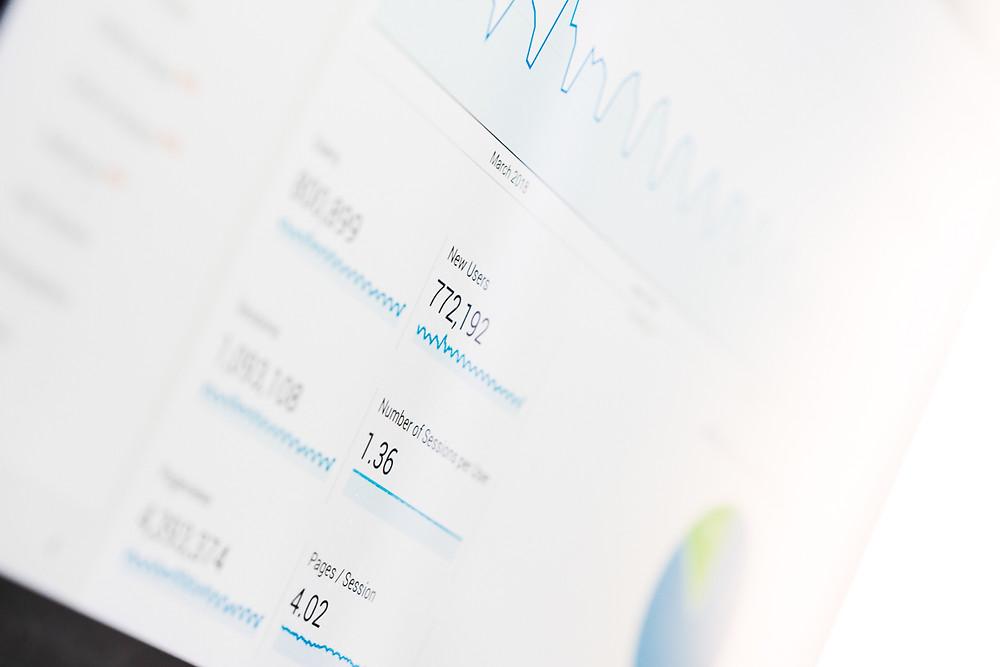 Imagen de plataforma Google Analytics.