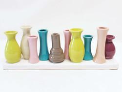 colorfull multi vase