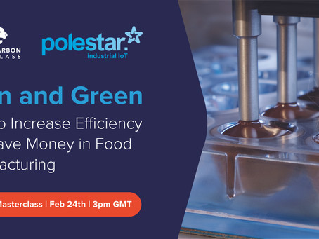 Webinar: Lean and Green Food Manufacturing