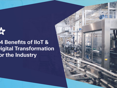 14 Benefits of IIoT & Digital Transformation for the Industry, tested by the OEG.