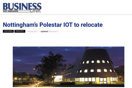 East Midlands Business Link: Nottingham's Polestar Industrial IOT to Relocate