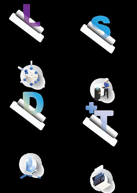 Industrial IT, Industrial Networks, LSD+T Digital Transformation