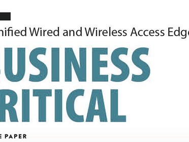 Unified Wired and Wireless Access Edge