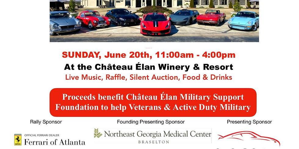 WiP Georgia Attending: Chateau Elan Charity Car Show