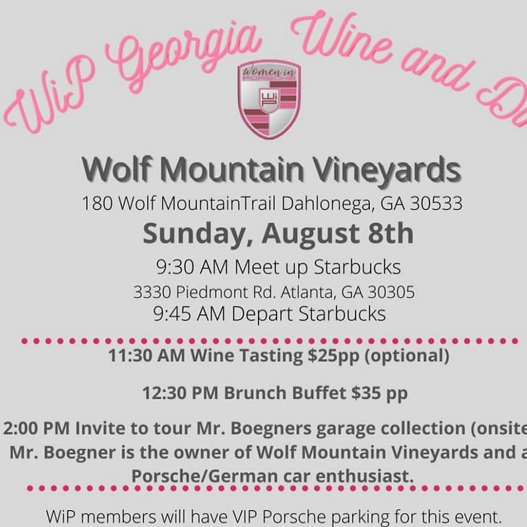 WiP GA: Wine & Dine