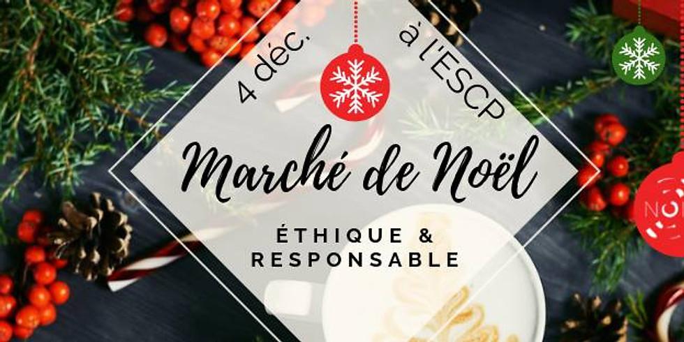 Marché de Noël éthique et responsable à l'ESCP