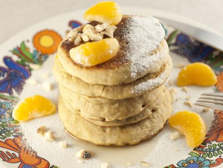 Pancakes moelleux végan au sirop de châtaigne et vanille L'empirique
