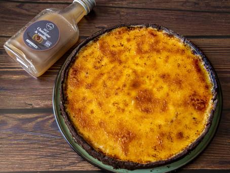 Tarte crème brûlée au sirop de châtaigne et vanille L'empirique