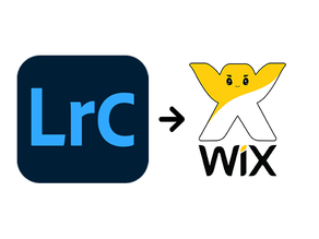 Workflow desde Lightroom Classic a Wix