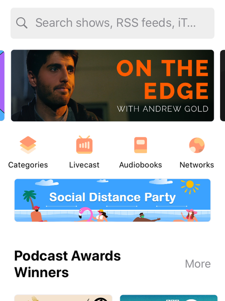 Castbox Banner Feature