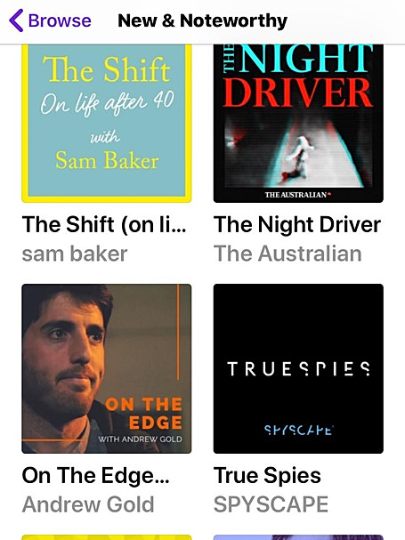 On the Edge with Andrew Gold on Apple New and Noteworthy