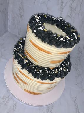 white black gold cake.jp
