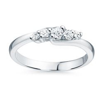 .40 ct White Gold Diamond Ring with Matching Band