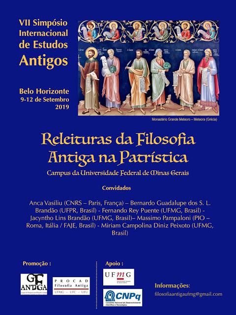 Releituras da Filosofia Antiga na Patristica